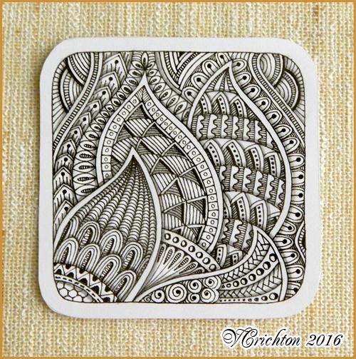 zentangle tile template - viktoriya crichton blog